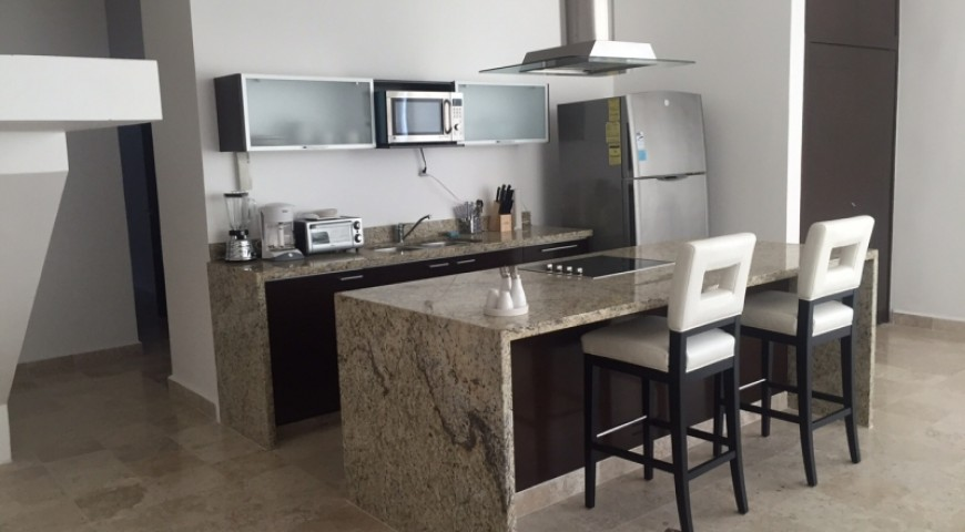 Condominio Akoya Pent House en Playacar