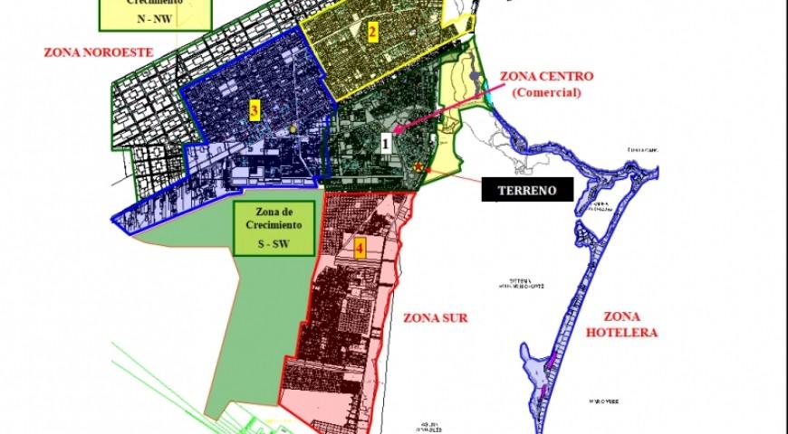Terreno Comercial Mixto sobre la  Av. Bonampak
