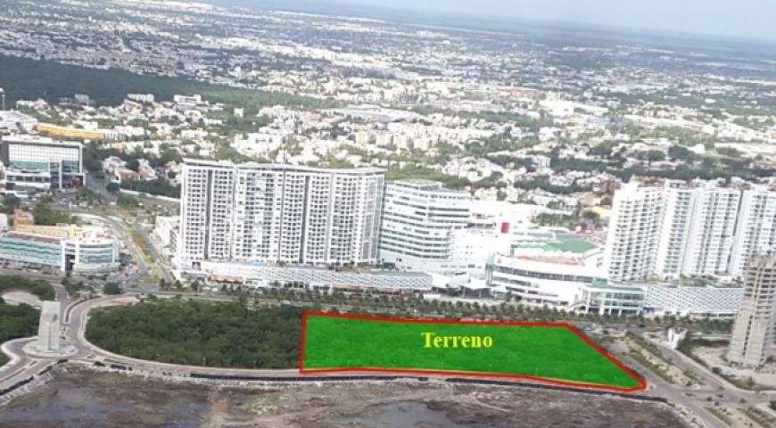 Terreno Condominal y Comercial sobre Av. Bonampak