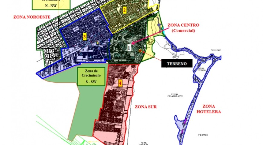 Terreno Comercial Mixto  Av. Tulum Esq. Contoy