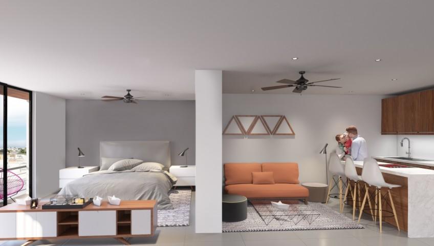 Condominio 1540 en  Playa del Carmen