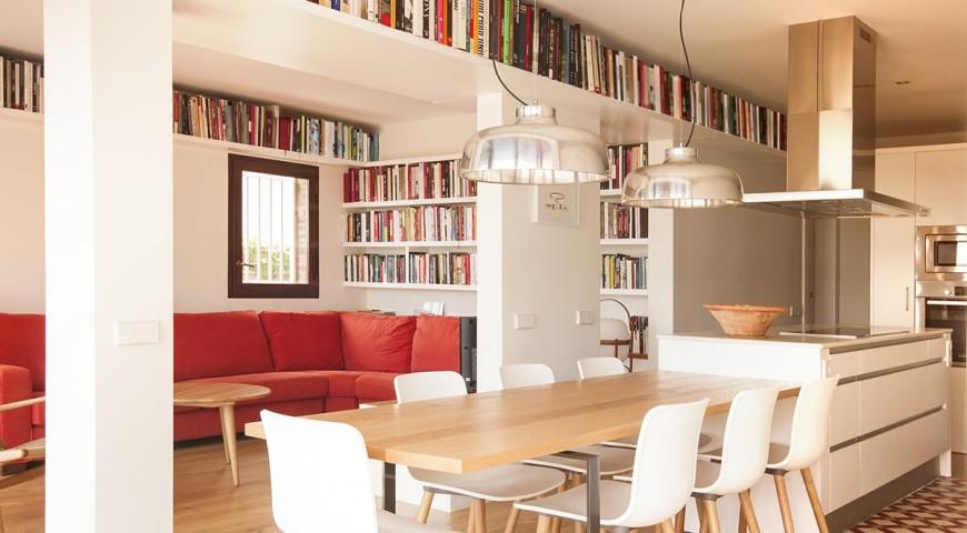 Soluciones creativas para guardar tus libros